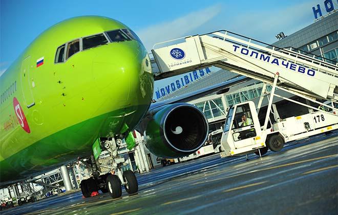 Самолет из Новосибирска в Берлин