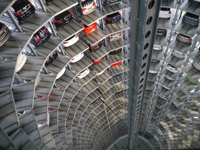 Немецкие парковки
