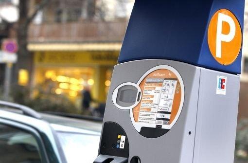 Паркомат в Германии