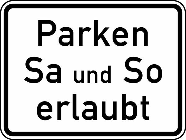 Парковка в выходные