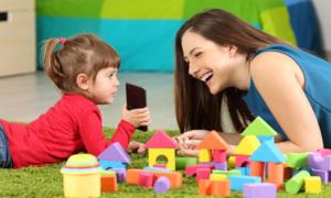 Занятия с детьми по программе Au-pair