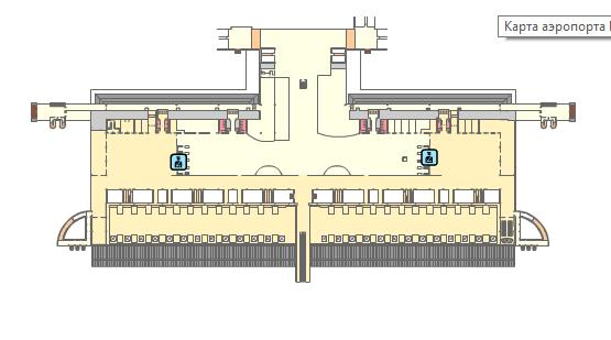 Схема аэропорта Пальма-де-Майорка