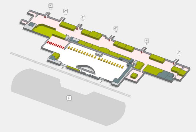 Терминал 1 аэропорта Лансароте