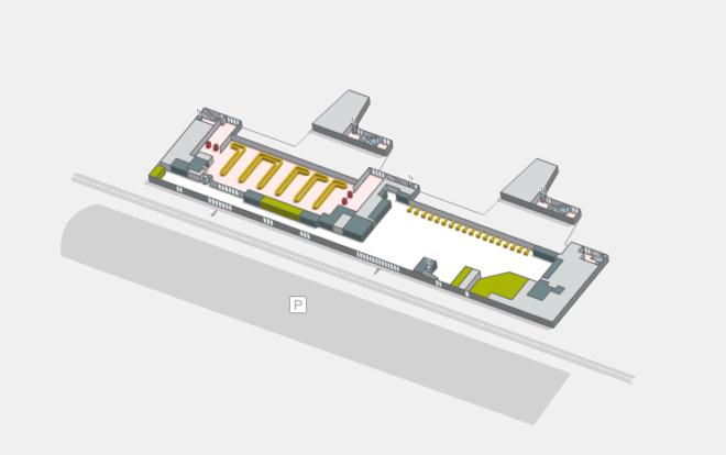 Терминал аэропорта Коста Браво