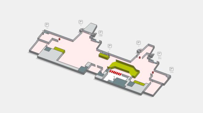 Терминал аэропорта Жироны Коста Браво