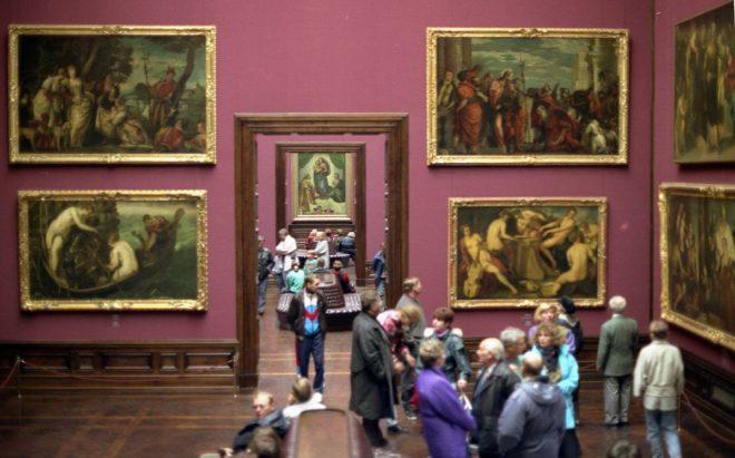 Залы картинной галереи