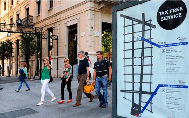 Как с помощью такс-фри удешевить отдых в Испании