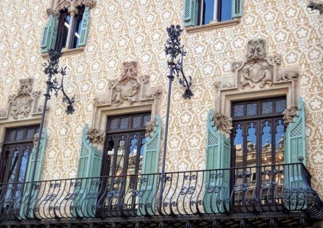 Балконы Дома Амалье