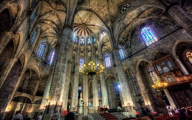 Готическое направление в архитектуре Испании