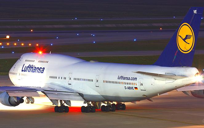 Самолет компании Люфтганза
