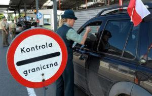 основные автомобильные пункты пропуска в Польшу