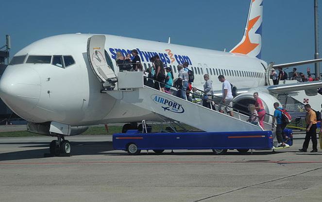 Чешская авиакомпания смартвингс посадка пасажиров