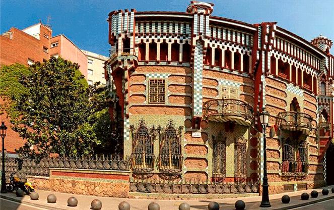 Дом Висенс - творение Гауди