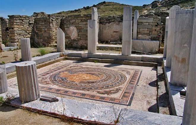 Дом Диониса на Пафосе