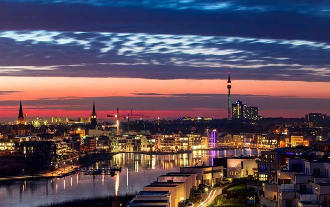 Панорама Дортмунда