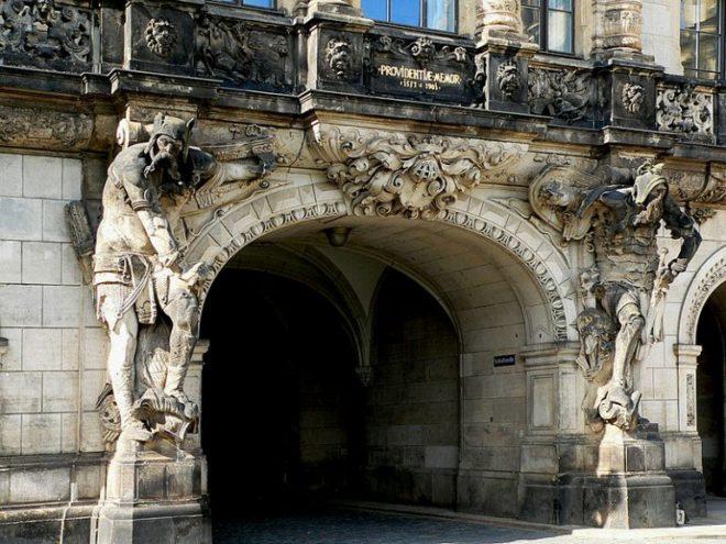 Замок-резиденция в Германии