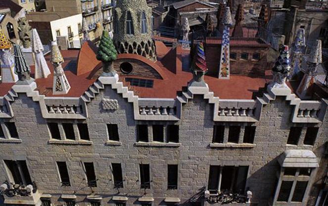 Дворец архитектора Гауди