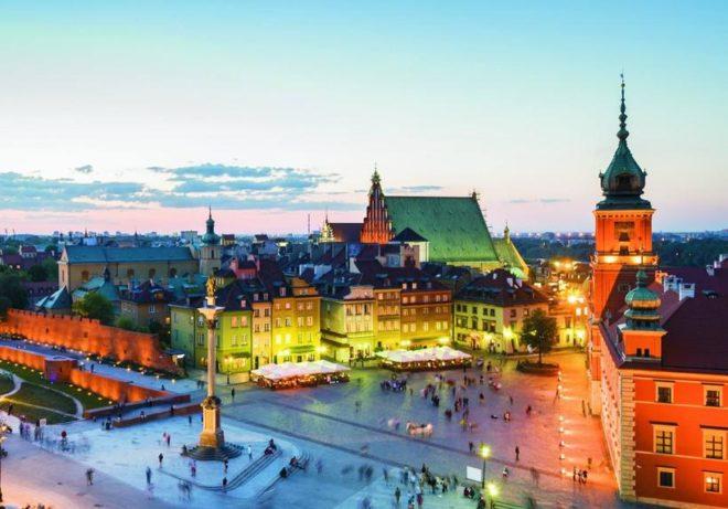 Климат Варшавы