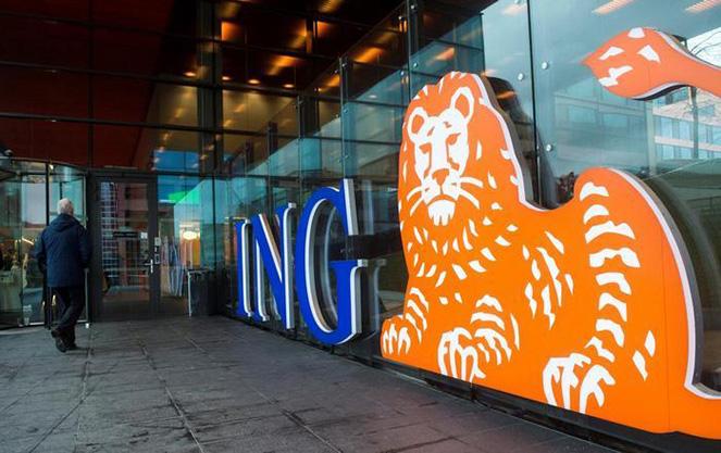 Логотип ИНГ банка в Польше