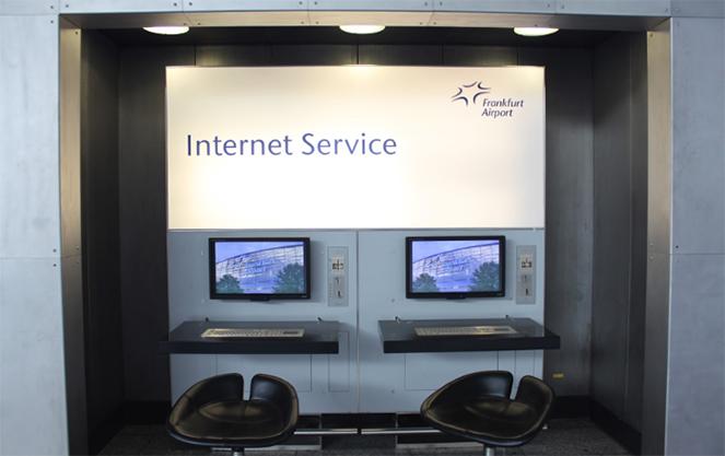 Интернет в аэропорту
