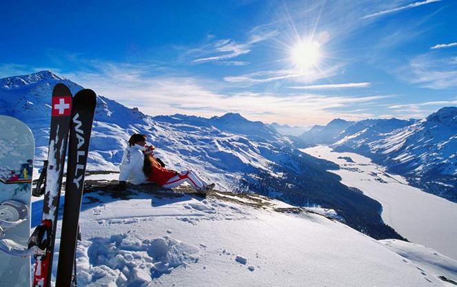 Где покататься на лыжах в октябре