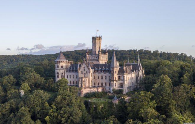 Замок Мариенбург в Саксонии