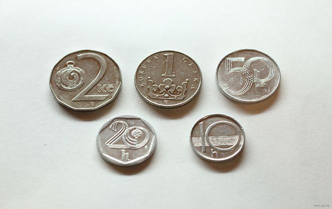 Монеты в Чехии
