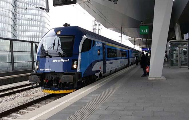 Поезд из Праги в Мюнхен