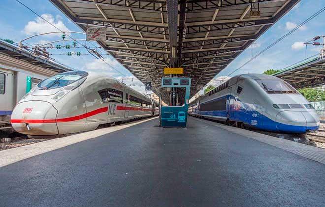 Поезд из Мюнхена в Страсбург