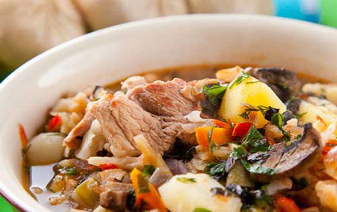 Немецкий суп айнтопф Морковный рецепт с фото пошагово