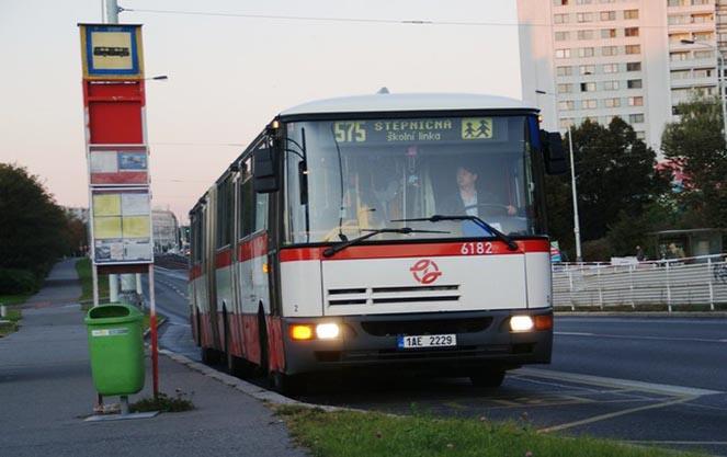 Автобусы в чешской республике
