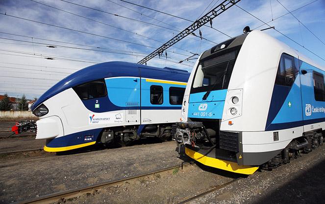 Железнодорожное сообщение чехии