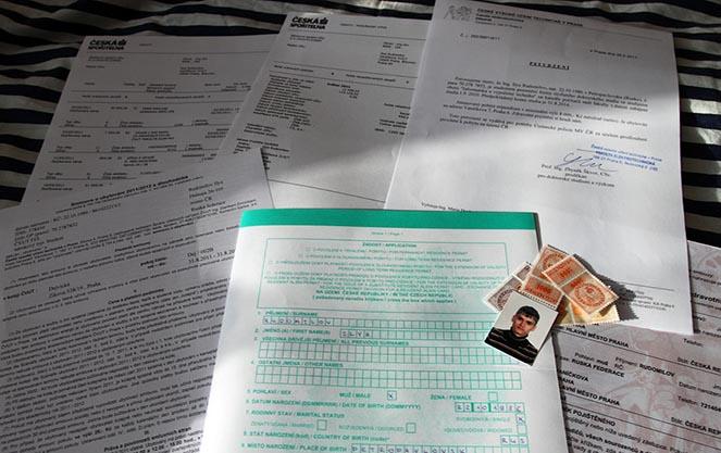 Продление студенческой визы в Чехию