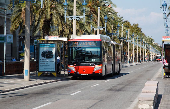 Городской транспорт в Барселоне