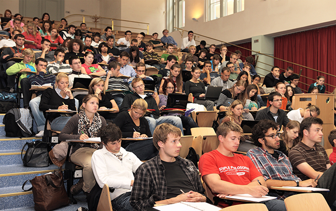 Студенты в Чехии