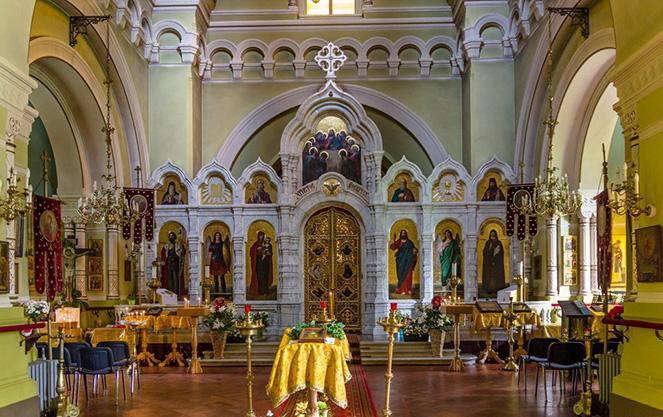 Церковь Симеона Дивногорца в Дрездене