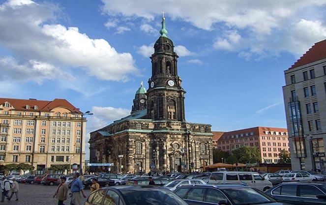 Кройцкирхе в Дрездене