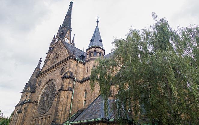 Церковь Мартина Лютера в Дрездене