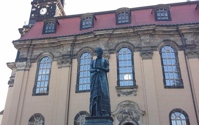 Церковь Аннен в Дрездене