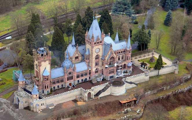 Архитектура замка Драхенбург