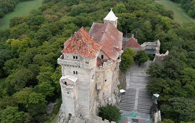 Как добраться к замку Лихтенштайн