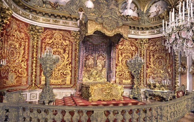 Спальня короля в Линдерхофе