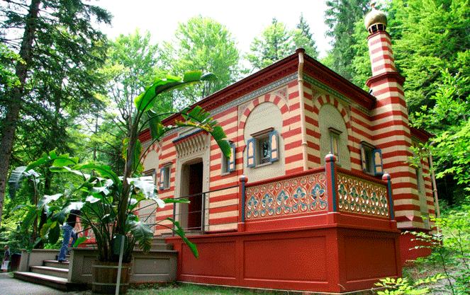 Марроканский дом замка Линдерхоф
