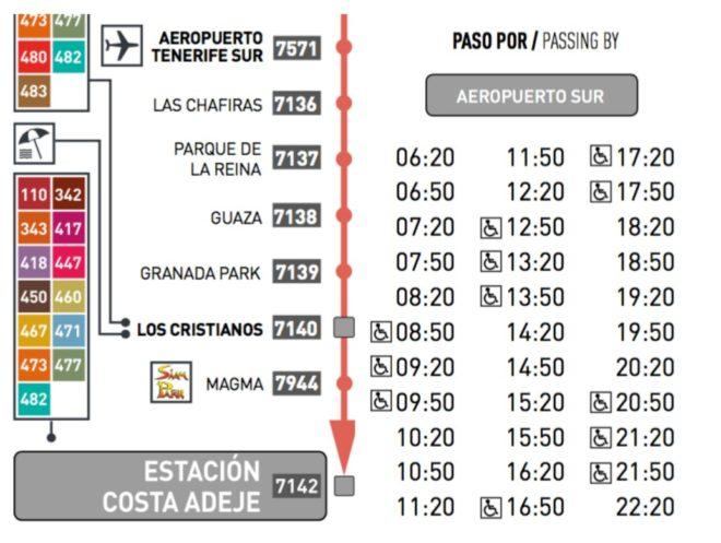 Маршрут и расписание из аэропорта