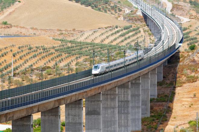 Железные дороги в Испании