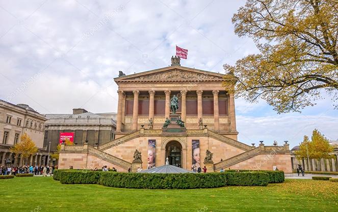 Старая национальная галерея в Германии