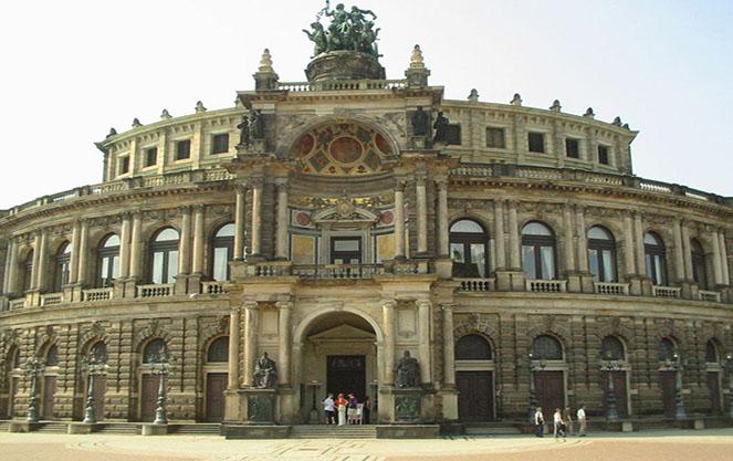 Галерея старых мастеров в Дрездене
