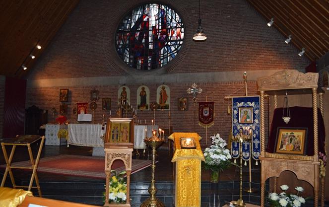 Церковь покрова Пресвятой Богородицы в Бонне