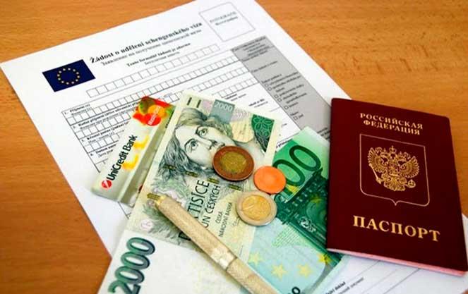 Стоимость изготовления визы в Чехию