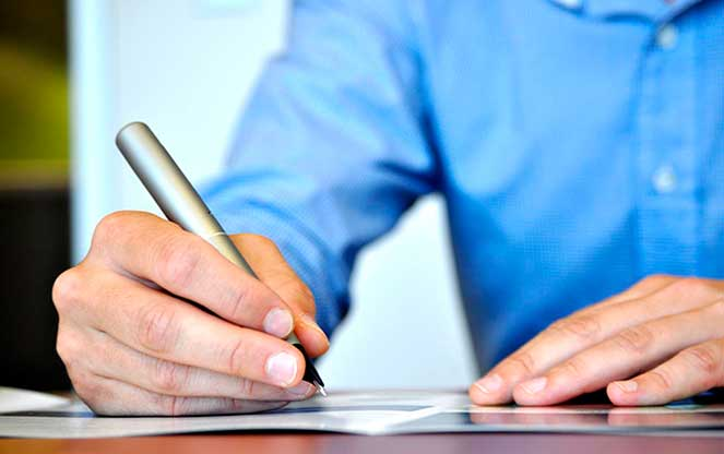 Написание заявления в случае отказа в визе